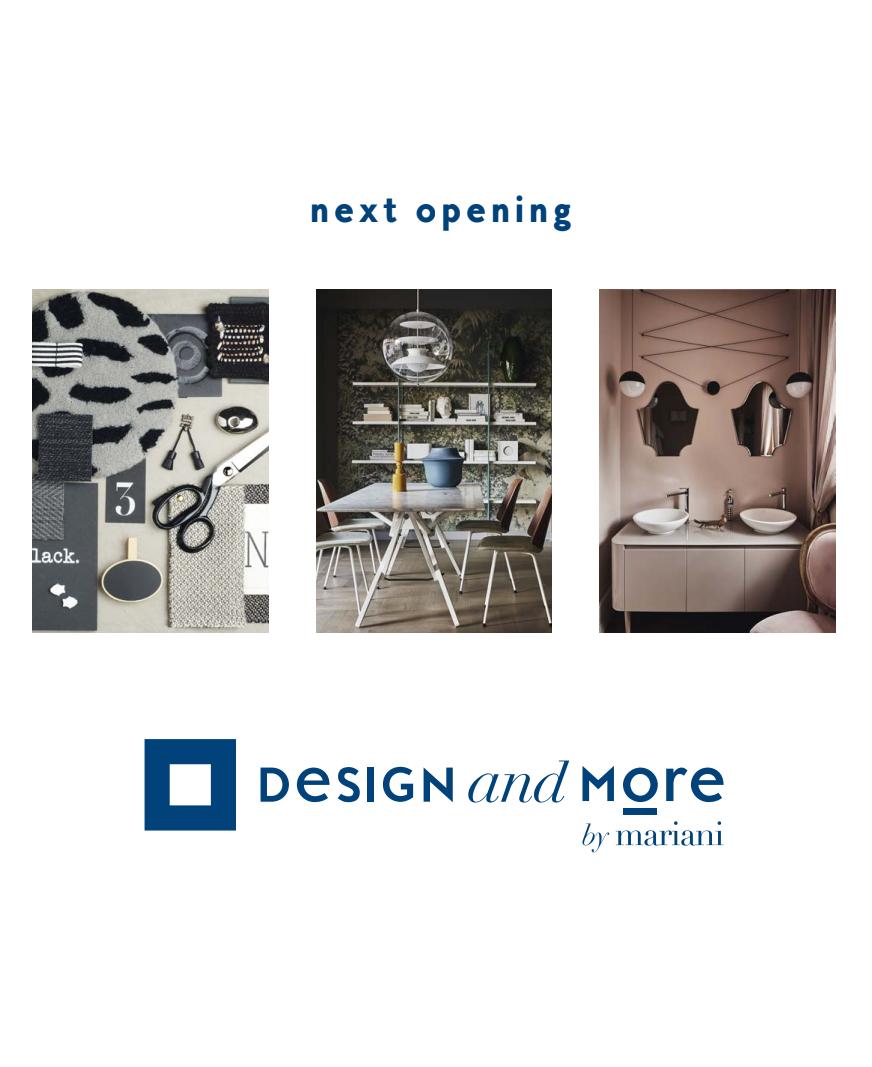 Design and more by mariani mariani design for Arredamenti mariani